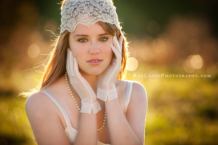 portraits with gorgeous backlighting