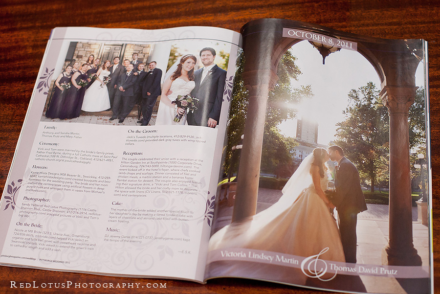 Featured Pittsburgh Weddings Magazine Red Lotus