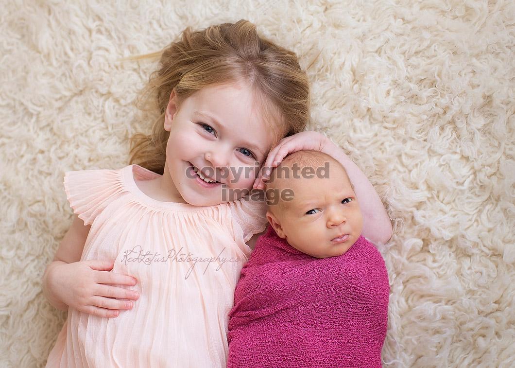 baby and sibling photos Pittsburgh studio