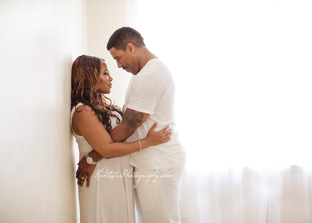 Pittsburgh Steelers pregnancy photos Mike Logan